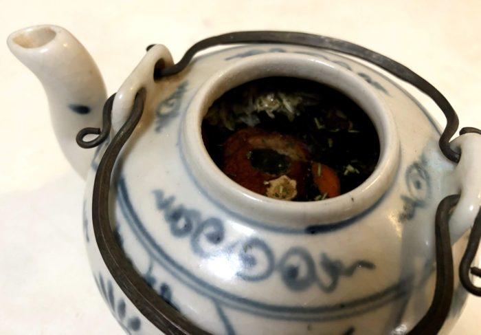碗子-八宝茶-給湯
